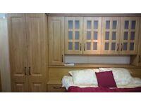 Bedroom in Pippy Oak colour