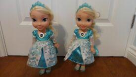 Frozen Singing Elsa Doll Excellent condition