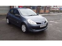 RENAULT CLIO NEW SHAPE, AUTOMATIC, ( ANY OLD CAR PX WELCOME ) low warranted mileage