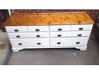 Solid Pine Sideboard and Drawers SOLD