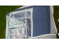 ISABELLA AMBASSADOR CROWN 2510 BLUE AWNING 975cm