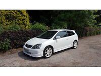 2005 HONDA CIVIC TYPE R 2.0 VTEC DOHC 200 BHP CHAMPIONSHIP WHITE PREMIER EDITION RECAROS BARGAIN