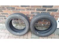2 Part Worn Tyres 185/55/R15