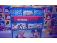 Mickey mouse storage unit