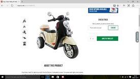 Kids 6v Scooter/motorbike. Kids toys