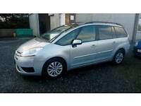 08 Citroen C4 Picasso 7 Seater. SILVER MET ( CAN BE VIEWED INSIDE ANYTIME
