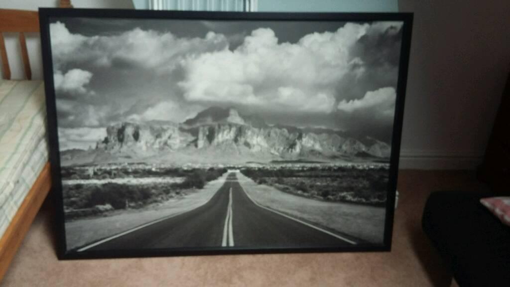 Huge Ikea canvas framed