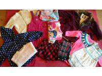 Large winter bundle of girls clothes. Age 3 to 4
