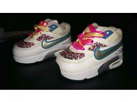 Infant Girls Blinged Air Max Size 3