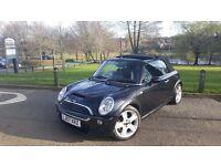 Mini Cooper S Black Convertible...