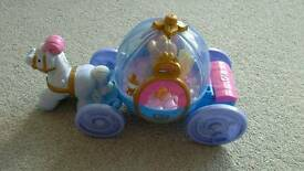 Fisher Price Toy - Little People Disney Princess Cinderella's Coach with Cinderella Figure
