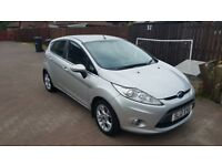 Ford fiesta 1.25, 12 plate.