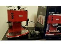 Delonghi Icona ECO 310.R Red Espresso Coffee Machine