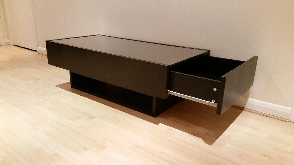 Black Glass Side Table Gumtree: IKEA Coffee Table