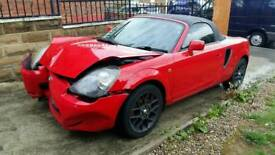 BREAKING TOYOTA MR2 SPARES OR REPAIRS SALVAGE
