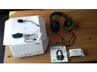 TURTLE BEACH XO FOUR GAMING HEADSET SPARES OR REPAIR BEEN USED ON XBOX ONE
