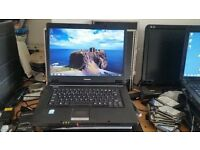 Toshiba satellite l30-10s windows 7 2g memory 100g hard drive wifi dvd drive comes with charger