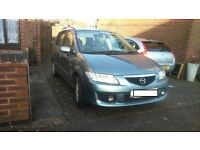 2002 '02' Reg Silver Blue Mazda Premacy 2.0 GSi Petrol Manual
