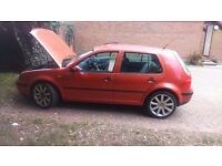 golf mk4 1.6sr. exhaust manifold blowing hence price. make me a offer (nothing stupid)