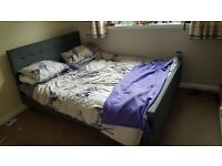 King Size bed and mattress for sale - mint condition