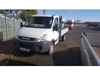 2011- 61 plate iveco 35-11s 12ft alloy dropside semi automatic no vat priced to sell