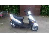 50cc scooter 7 months mot 1 former keeper low miles sandbach cheshire