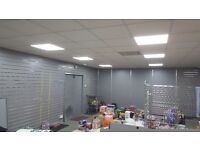 A newly refurbished shop to let