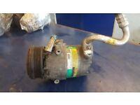 2003 Opel Zafira A Air conditioner compressor pump 24464151 11103133126 DELPHI LTN