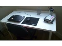 Ikea white desk/table