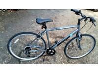 "Hybrid City Sports Bike 21"" frame"