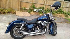 Harley Davidson fxr 94 model