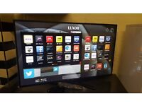 LUXOR 42-inch Smart ULTRA SLIM full HD LED TV,built in Wifi,Freeview HD,Netflix.Pls Read Description