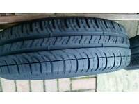 Michelin 2x tyres 165 70 13