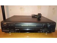 JVC, VHS Video Cassette Player and Recorder.