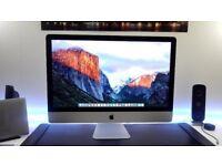 5k display 27 inch IMAC 2015 LATE OCTOBER i5 16gb ram 2tb r9 (( HIGH SPECS )) SWAP or CASH