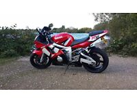 Yamaha r6 2002 low miles