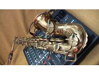 Beuscher True-Tone Stencil Vintage Alto Saxophone