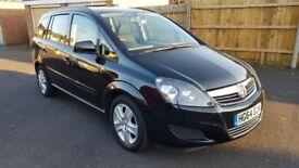 Vauxhall Zafira 1.7cdti Ecoflex, 64 plate, 28k, FSH, MOT 12/18
