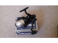 Two Okuma spinning reels and both brand new in the box with spare spools