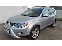 2008 MITSUBISHI OUTLANDER WARRIOR 2.0 DI-D 4X4 7 SEATS - LEATHER (PART EXCHANGE WELCOME)