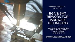 HAND SOLDERING SURFACE MOUNT SOLDERING THROUGH HOLE SOLDERING & BGA REWORK TRAINING COURSE | WIRELESS TRAINING CENTER