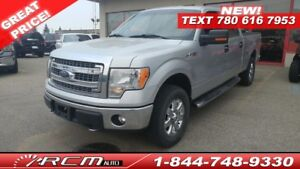 2013 Ford F-150 XLT CREW CAB 4X4 TRUCK FINANCING AVAILABLE