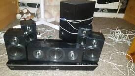 Panasonic blu ray disc home theater sound system
