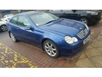 2002 Mercedes c200 automatic FULL YEARS MOT PX OR may SWAP