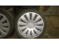 "alloys 8 stud muti fit vw/ audi german seat skoda 19"" parts"