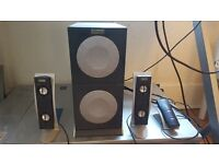 Altec Lansing Speakers with vofer and remote control