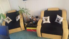 2 x Armchair