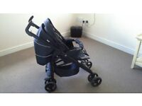 Silver Cross Monodot 3D 3 in 1 Pushchair with 0-1 Car SeatTravel System.