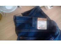 Brand new with tags wrangler jeans, w 38 - length 30