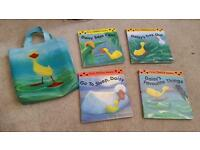 X4 daisy duck books & bag hobbies reading kid